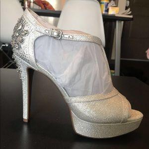Gianni Bini Silver Heel